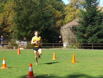Finishing the Golden Hills Trail Marathon